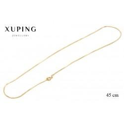 Łańcuszek pozłacany 18k Xuping - FM2491