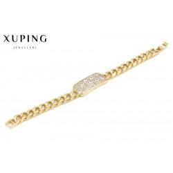 Bransoletka pozłacana 18k - Xuping - MF2769
