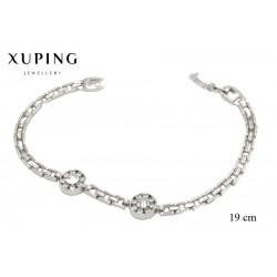 Bransoletka rodowana - Xuping - FM1093
