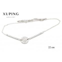 Bransoletka rodowana - Xuping - MF3859