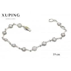 Bransoletka rodowana - Xuping - MF1370
