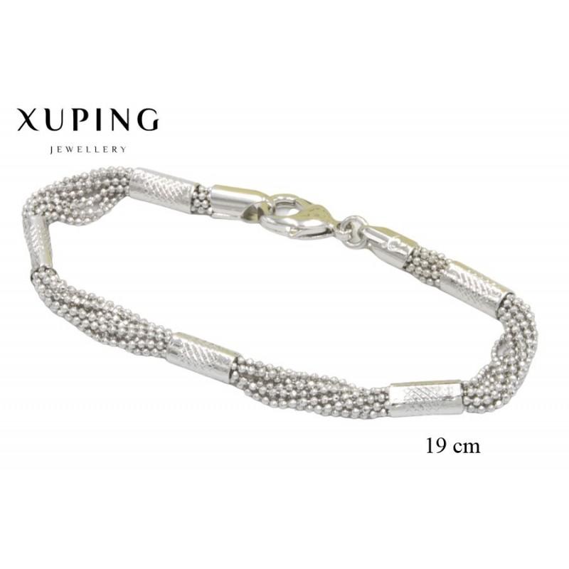 Bransoletka rodowana - Xuping - MF3864