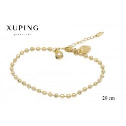 Bransoletka pozłacana 18k - Xuping - MF2750