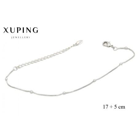 Bransoletka rodowana - Xuping - MF3854