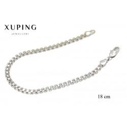 Bransoletka rodowana - Xuping - MF3866