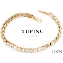 Bransoletka pozłacana 18k - Xuping - MF2799