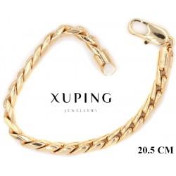 Bransoletka pozłacana 18k - Xuping - MF4217