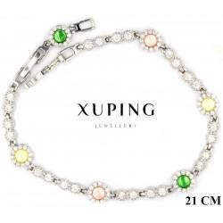 Bransoletka rodowana - Xuping - MF4125