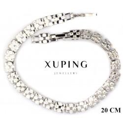 Bransoletka rodowana - Xuping - MF4146