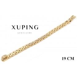 Bransoletka pozłacana 18k - Xuping - MF2800