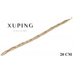 Bransoletka pozłacana 18k - Xuping - MF4177