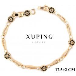 Bransoletka pozłacana 18k - Xuping - MF2932-1
