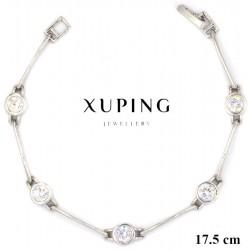 Bransoletka rodowana - Xuping - MF4123
