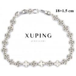 Bransoletka rodowana - Xuping - MF4148