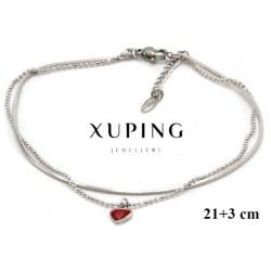 Bransoletka rodowana - Xuping - MF4150
