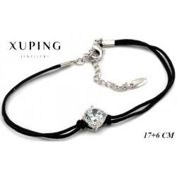 Bransoletka rodowana - Xuping - MF4151