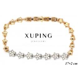 Bransoletka pozłacana 18k - Xuping - MF4104