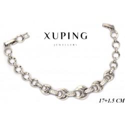Bransoletka rodowana - Xuping - MF4138