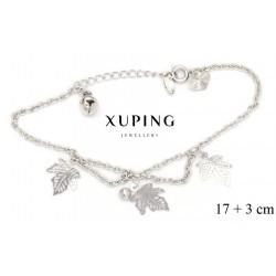 Bransoletka rodowana - Xuping - MF4275