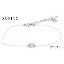 Bransoletka rodowana - Xuping - MF4278