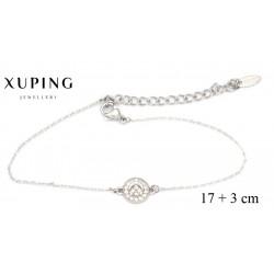Bransoletka rodowana - Xuping - MF4279