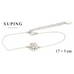 Bransoletka rodowana - Xuping - MF4280
