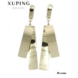Kolczyki pozłacane 18k - Xuping - MF4029-1
