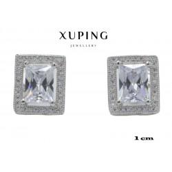 Kolczyki rodowane Xuping - MF2950