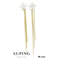Kolczyki pozłacane 18k - Xuping - MF4192