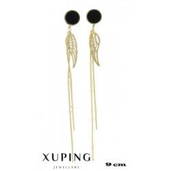 Kolczyki pozłacane 18k - Xuping - MF4183