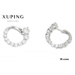 Kolczyki rodowane Xuping - MF4235