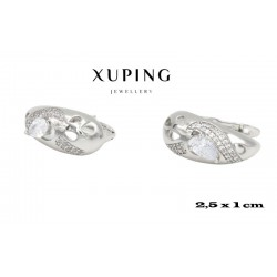 Kolczyki rodowane Xuping - MF4271
