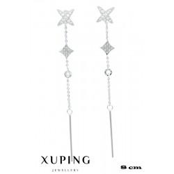 Kolczyki rodowane Xuping - MF4268-2