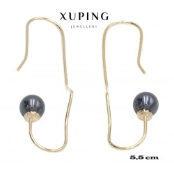 Kolczyki pozłacane 18k - Xuping - MF4300-2