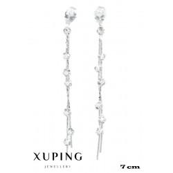 Kolczyki rodowane Xuping - MF4286