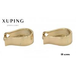 Kolczyki pozłacane 18k - Xuping - MF4086