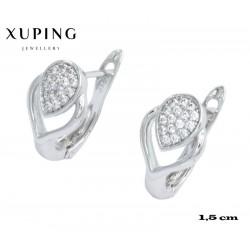 Kolczyki rodowane Xuping - MF4362