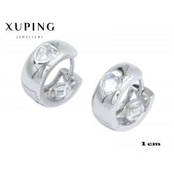 Kolczyki rodowane Xuping - MF4347