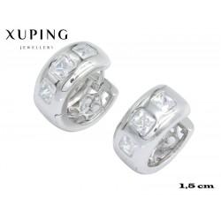 Kolczyki rodowane Xuping - MF4346