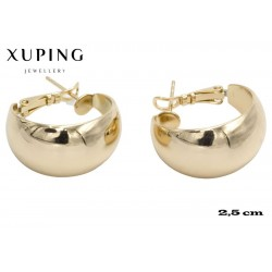 Kolczyki pozłacane 18k - Xuping - MF4328