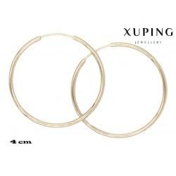 Kolczyki pozłacane 18k - Xuping - MF2906