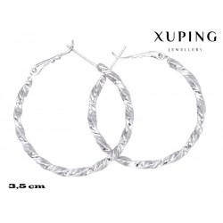 Kolczyki rodowane Xuping - MF4176