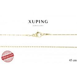Łańcuszek pozłacany 18k Xuping - FM14073