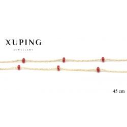 Naszyjnik pozłacany Xuping - MF2666