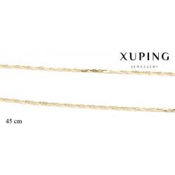 Naszyjnik pozłacany Xuping - MF2684