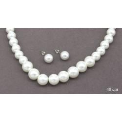Komplet perłowy - MF1947