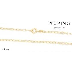 Naszyjnik pozłacany Xuping - MF2662