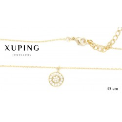 Naszyjnik pozłacany Xuping - FM14219-2