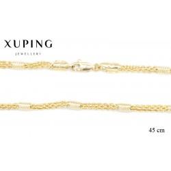 Naszyjnik pozłacany Xuping - MF1502