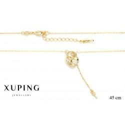 Naszyjnik pozłacany Xuping - MF1186